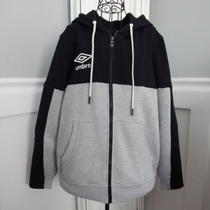 Men's Umbro Full Zip Fleece Hoody